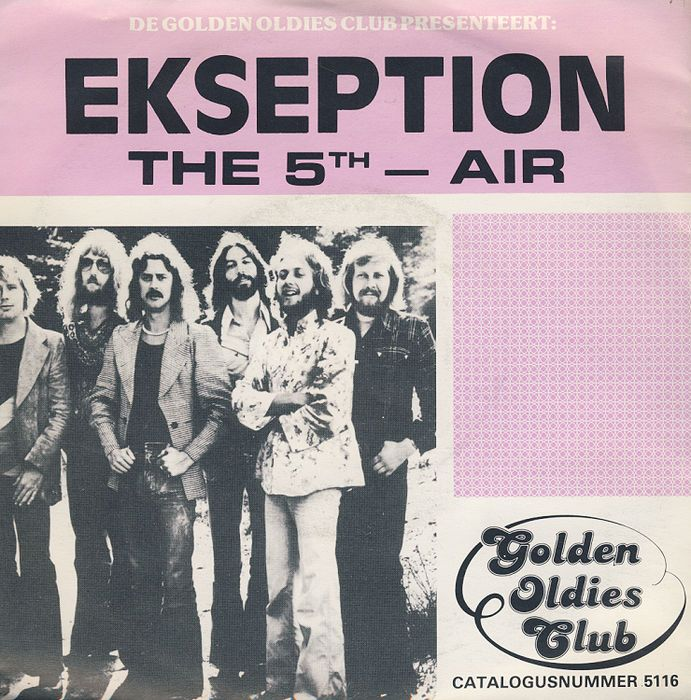 Ekseption, small but beautiful collection of 10 7inch singles in picture sleeve