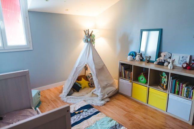 Idée de décoration pour chambre de garçon de 2 ans   Décoration chambre, Chambre de garçon ...