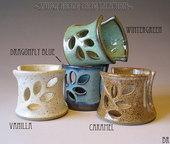 Pottery Sponge Holder sponge holder pottery sink sponge holder ceramic sponge holder kitchen sponge holder sponge holder ceramic