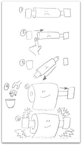How to change the toilet paper roll - I will not name names, but somebody  must need a tutorial   Toilet paper crafts, Toilet paper humor, Toilet  paper roll