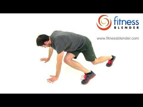 40 Minute Advanced Total Body HIIT Cardio and Core Workout Video, Fitness Blender