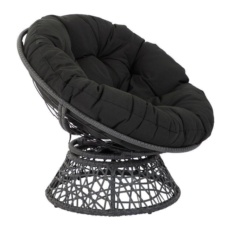 Swivel Papasan Chair Papasan Chair Wicker Lounge Chair