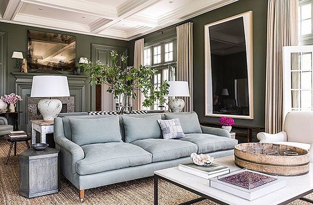 Traditionalism is the foundation of my style, but this classic design is trending!  This morning on the blog I'm sharing a look at some things I think are trending, along with some fun finds, and personal happenings.  Pop on over and let's chat!  Design by  @markcunninghaminc via @onekingslane.