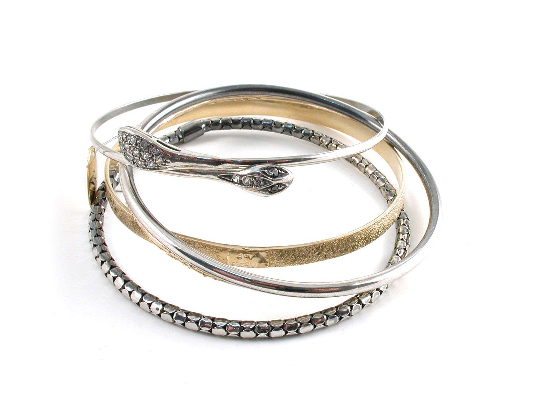 Iosselliani bracelet set fashion fashion fashion pinterest