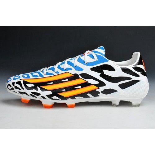 Adidas Adizero Battle Pack Messi F50 FG Scarpe da calcio bianca Nero Blu #Scarpe  da