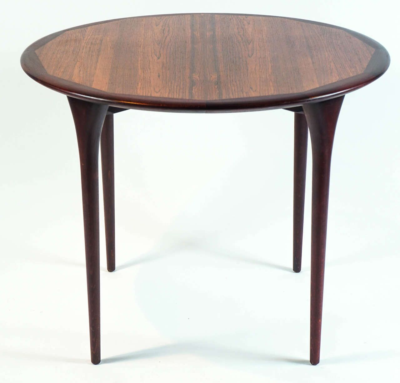 small rosewood dining or center table by seffle of stockholm side rh pinterest co uk