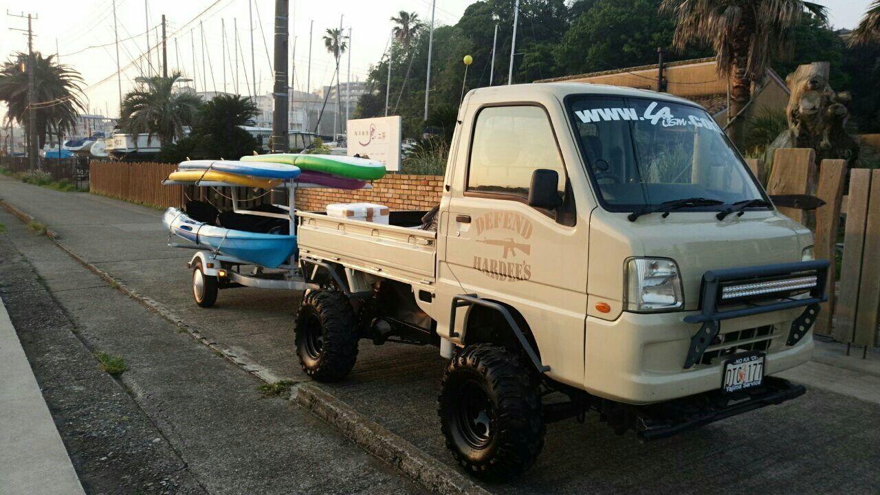 カスタム屋 Hardee S おもしろい車 ミニトラック ジープ