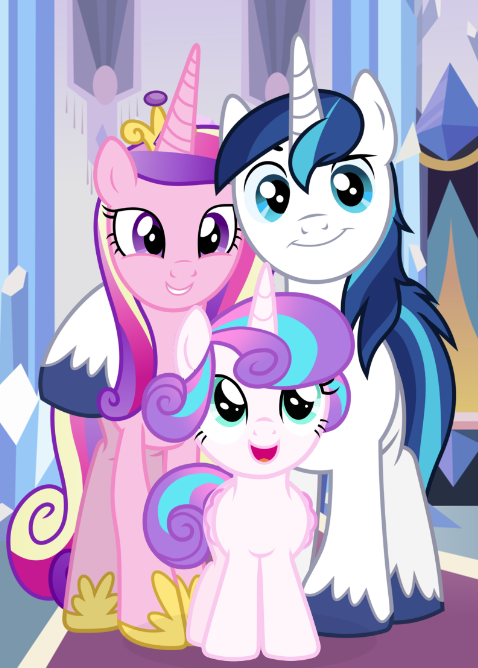 The Crystal Royal Family By 3d4d My Little Pony Wallpaper My Little Pony Princess My Little Pony Drawing
