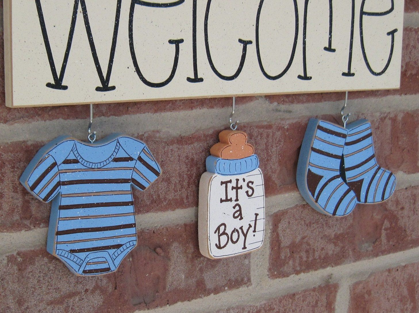 Welcoming baby home decorations