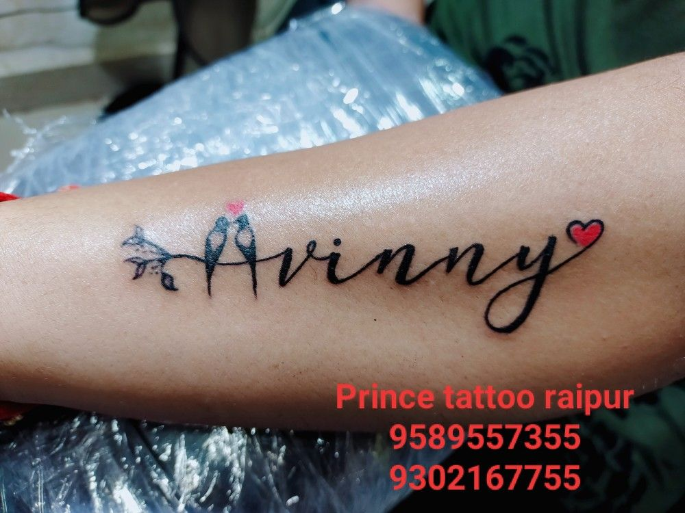 Vinny Name Tattoo Design In 2020 Name Tattoo Designs New Rose Tattoo Hand Tattoos For Girls