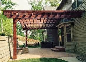 pergola attached to house pictures home design ideas pergolaplans rh pinterest at