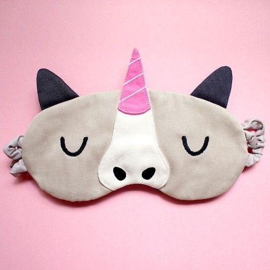 sleep eye mask mcsparkles the unicorn handmade pinterest
