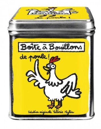 BOITE A BOUILLONS DE POULE JAUNE