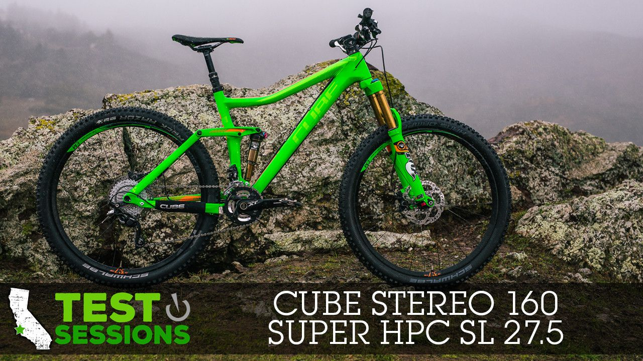 2015 Cube Stereo 160 Super Hpc Sl 27 5