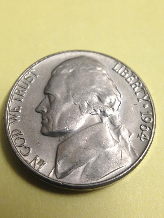 1964 D Jefferson Nickel | Boots | Valuable coins, Coins worth money