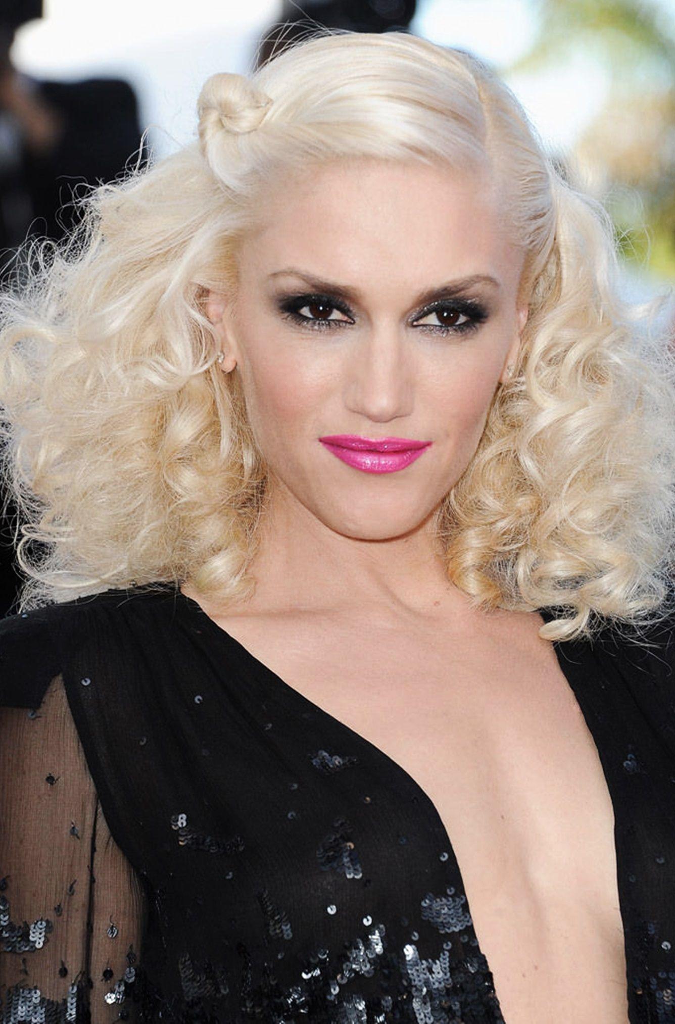 Gwen Stefani Blonde Hair Color Platinum Blonde Hair Disco Hair