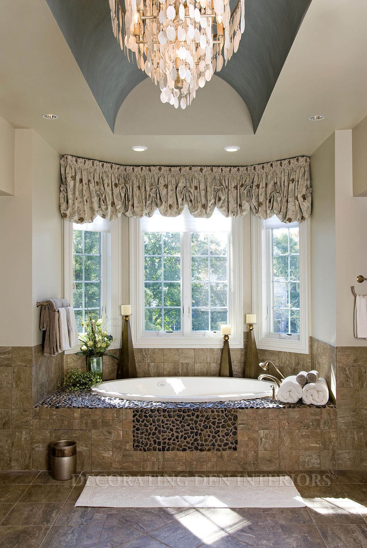 Bathroom designs by Decorating Den Interiors. Want this look? Call ...