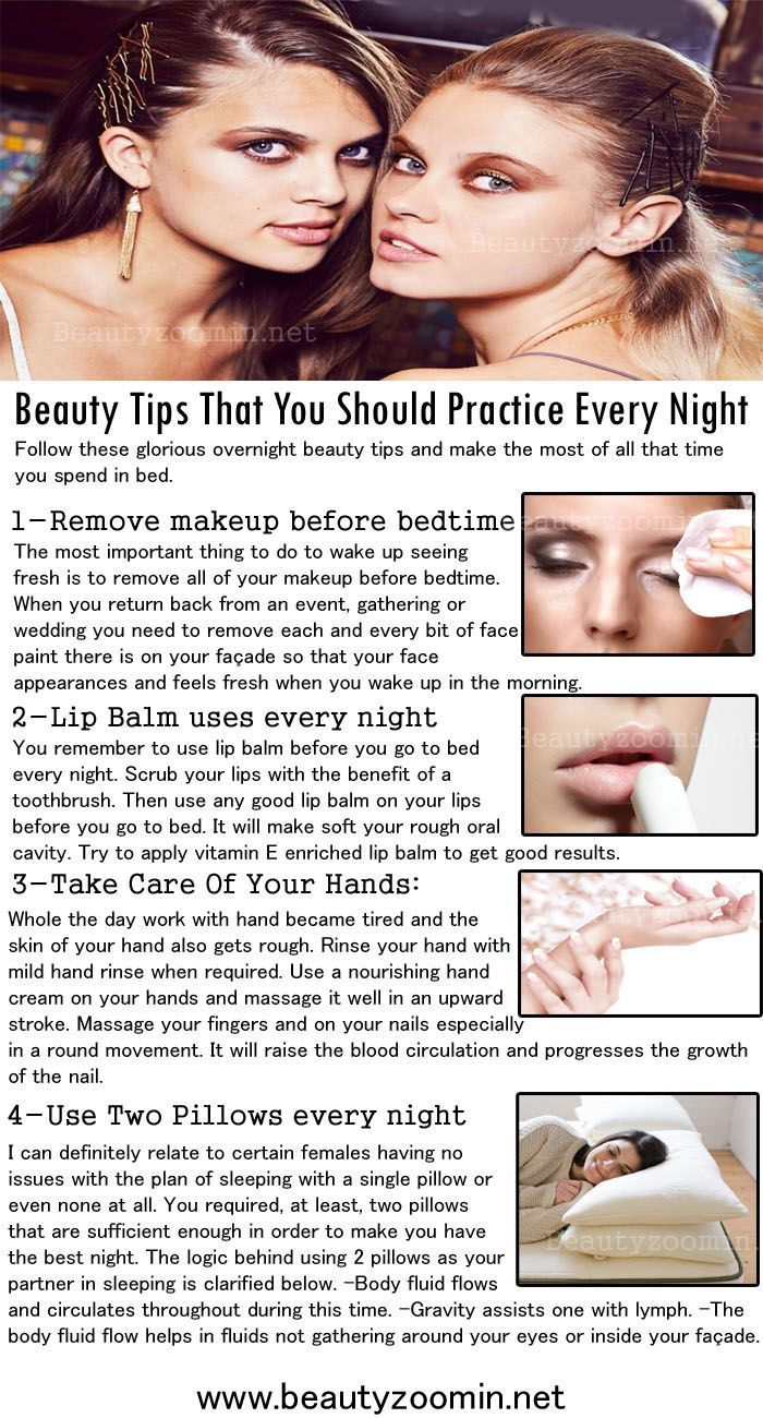 Beauty Tips That You Should Practice Every Night It is