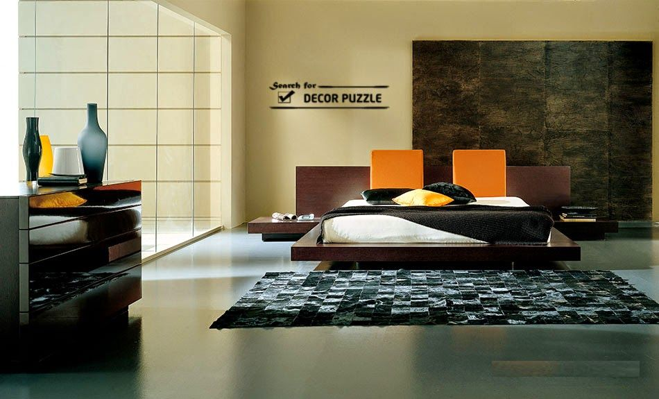 Anese Bedroom Furniture Design In Modern Minimalist Interior Style
