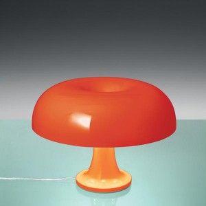 Ik vond dit op Beslist.nl: Artemide Nesso tafellamp oranje