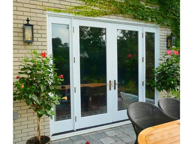 french doors inswing outswing single