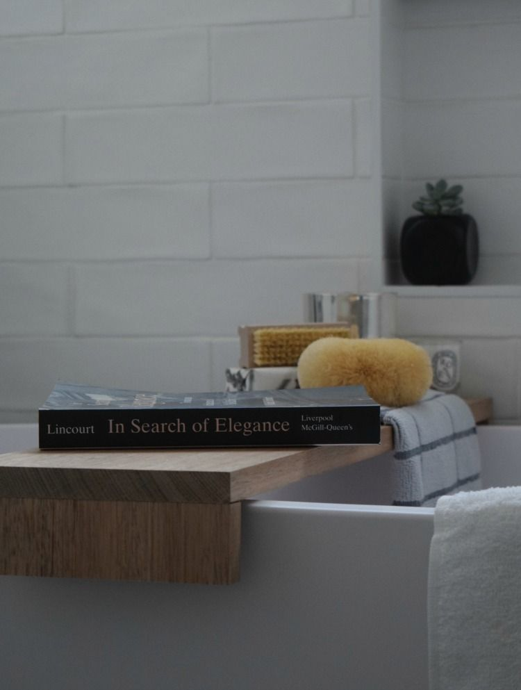 DIY Bathtub Shelf, How to Make a Bath Tray | Bathtubs, Bath and Shelves