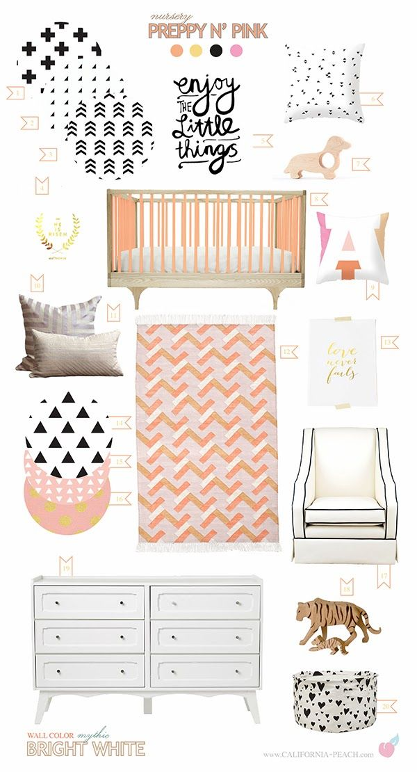 Pink Nursery Baby