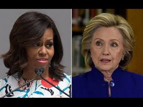 Michelle Obama Said Hillary Clinton Is Impressive and she is a Phenomenal Woman. WTF? - YouTube