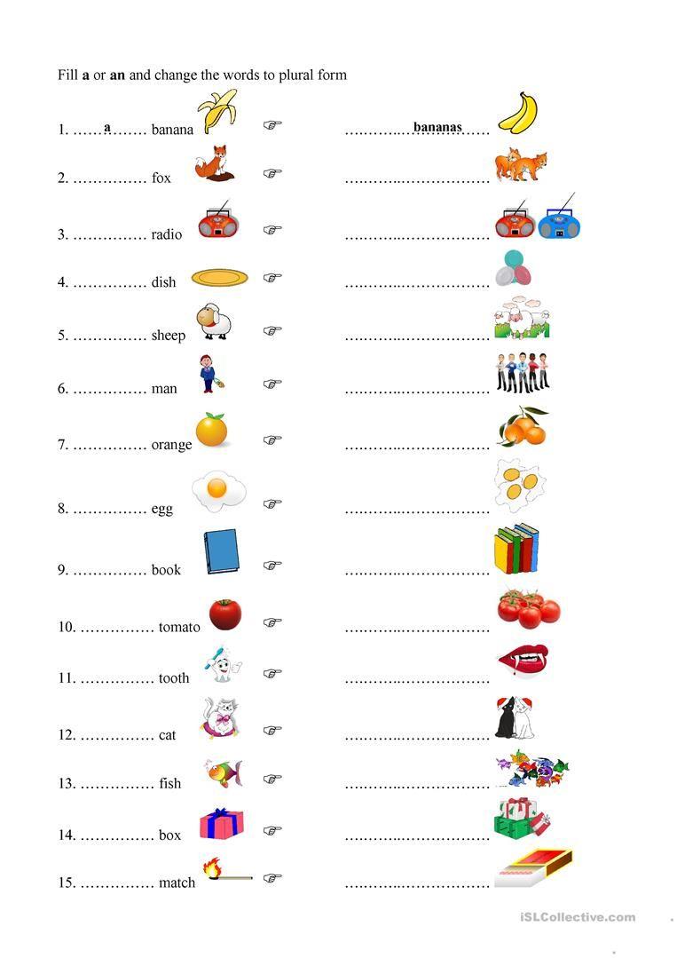 Plurals Worksheet Free Esl Printable Worksheets Made By Teachers Plurals Worksheets Plurals English Grammar [ 1079 x 763 Pixel ]
