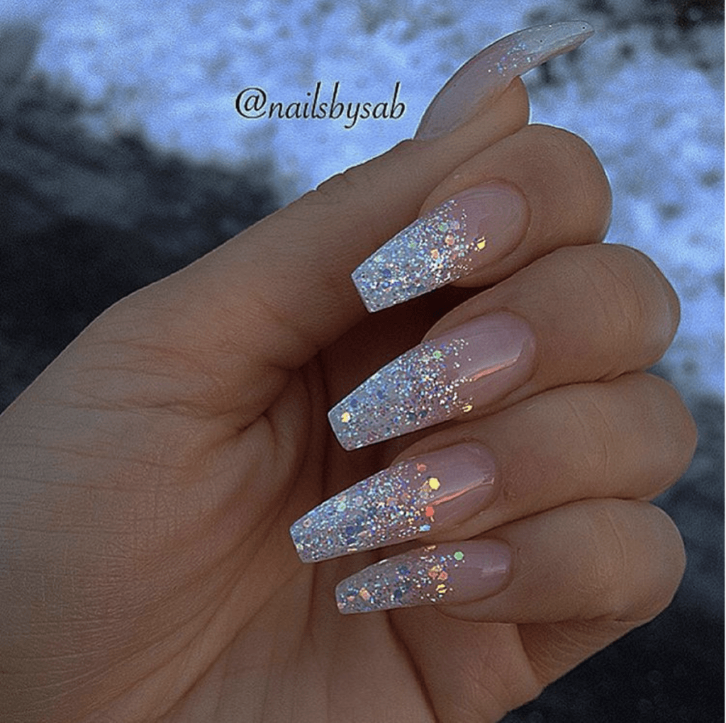The Show With 50 Gel Nails Designs Nail Designs Glitter Acrylic Nails Coffin Glitter Acrylic Nail Designs Glitter