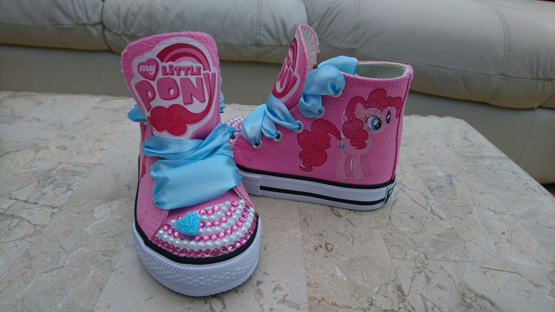 little pony Pinkie Pie high top shoes
