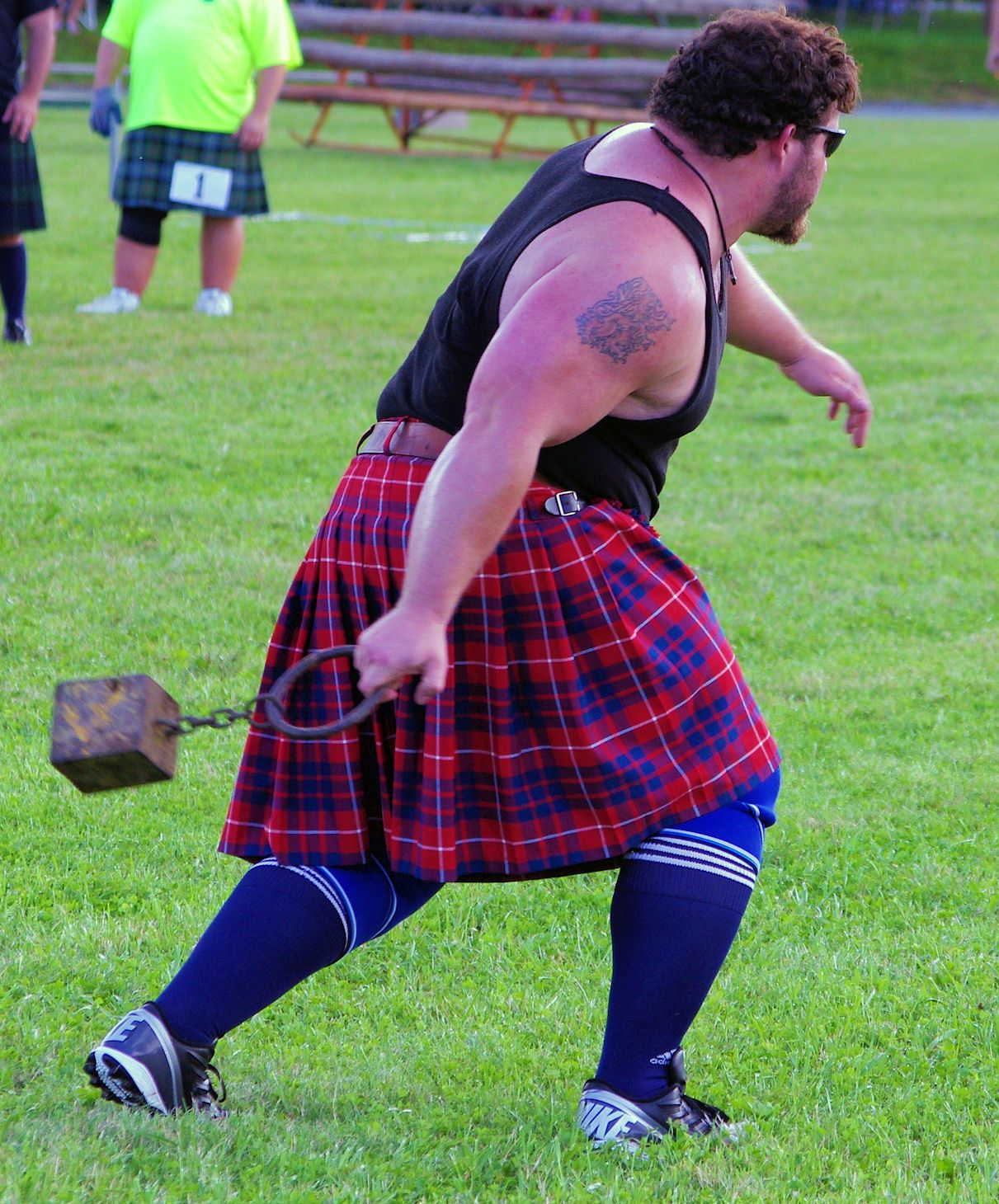 The Grandfather Mountain Highland Games in the NC