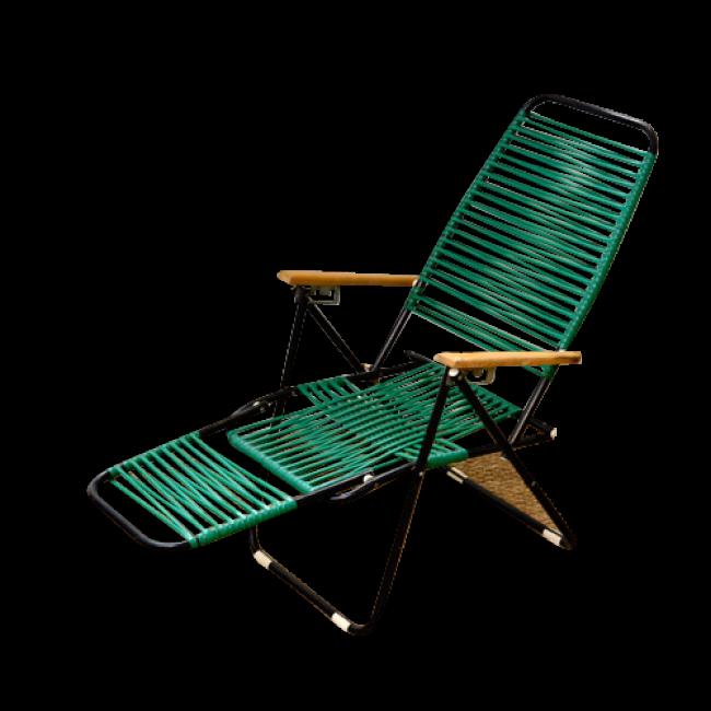 transat enfant scoubidou m tal bon tat vintage 9308. Black Bedroom Furniture Sets. Home Design Ideas