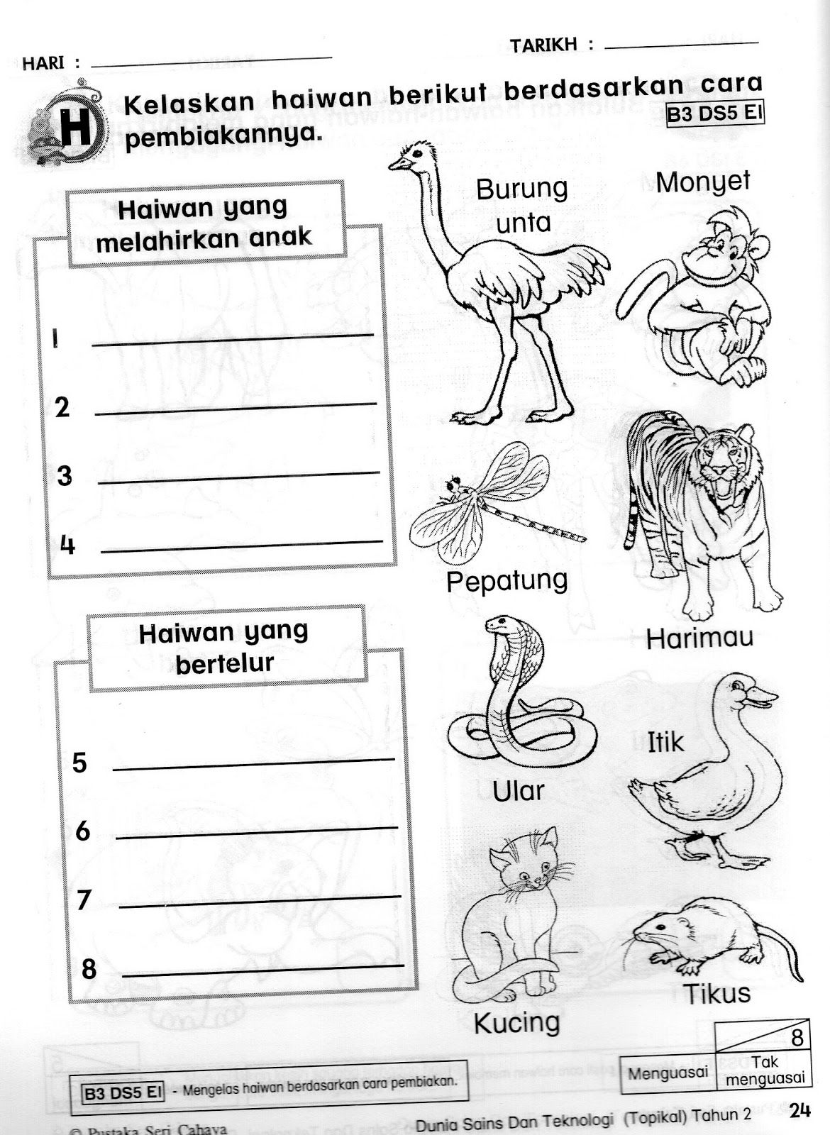 Latihan Haiwan Sains Tahun 1 Yahoo Image Search Results Image Literacy Image Search