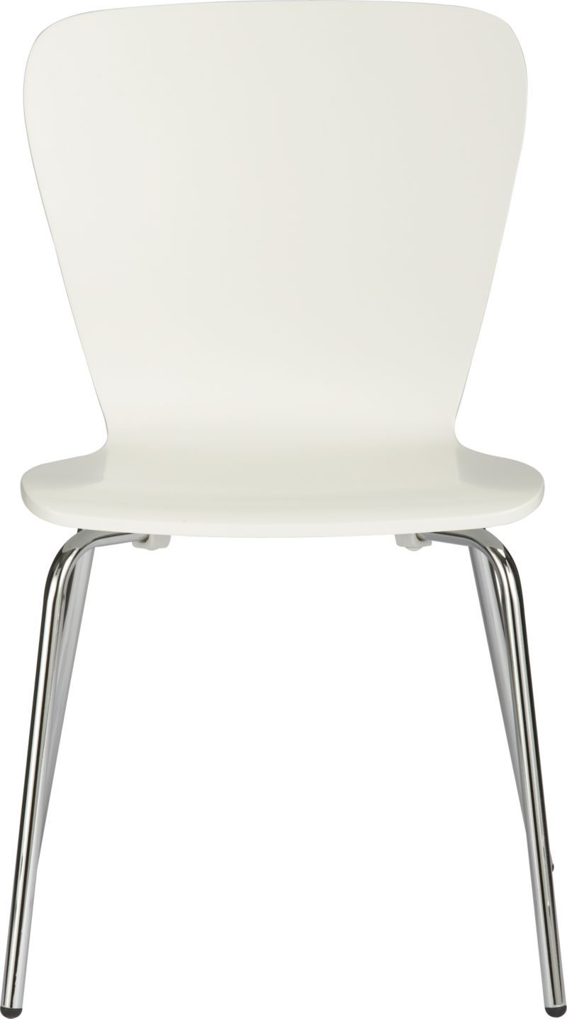 its hard to choose a chair without sitting in it....Felix White Side ...