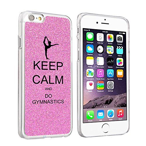Keep Calm and Do Gymnastics Cell Phone Case-- you can personalize! // Gymnast Gift Guide