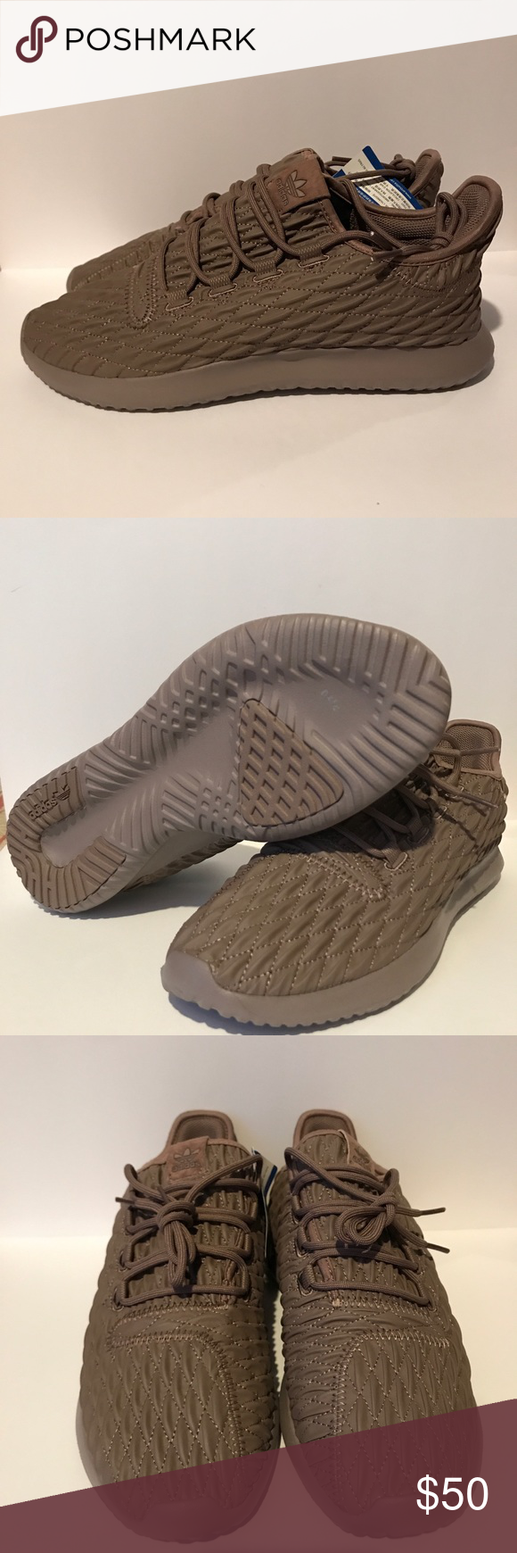 f724260e4862 New Adidas Tubular Shadow Trace Brown size 10.5 Brand New Adidas just come  with out the BOX. NO BOX INCLUDED.... Size 10.5 US adidas Shoes Athletic  Shoes