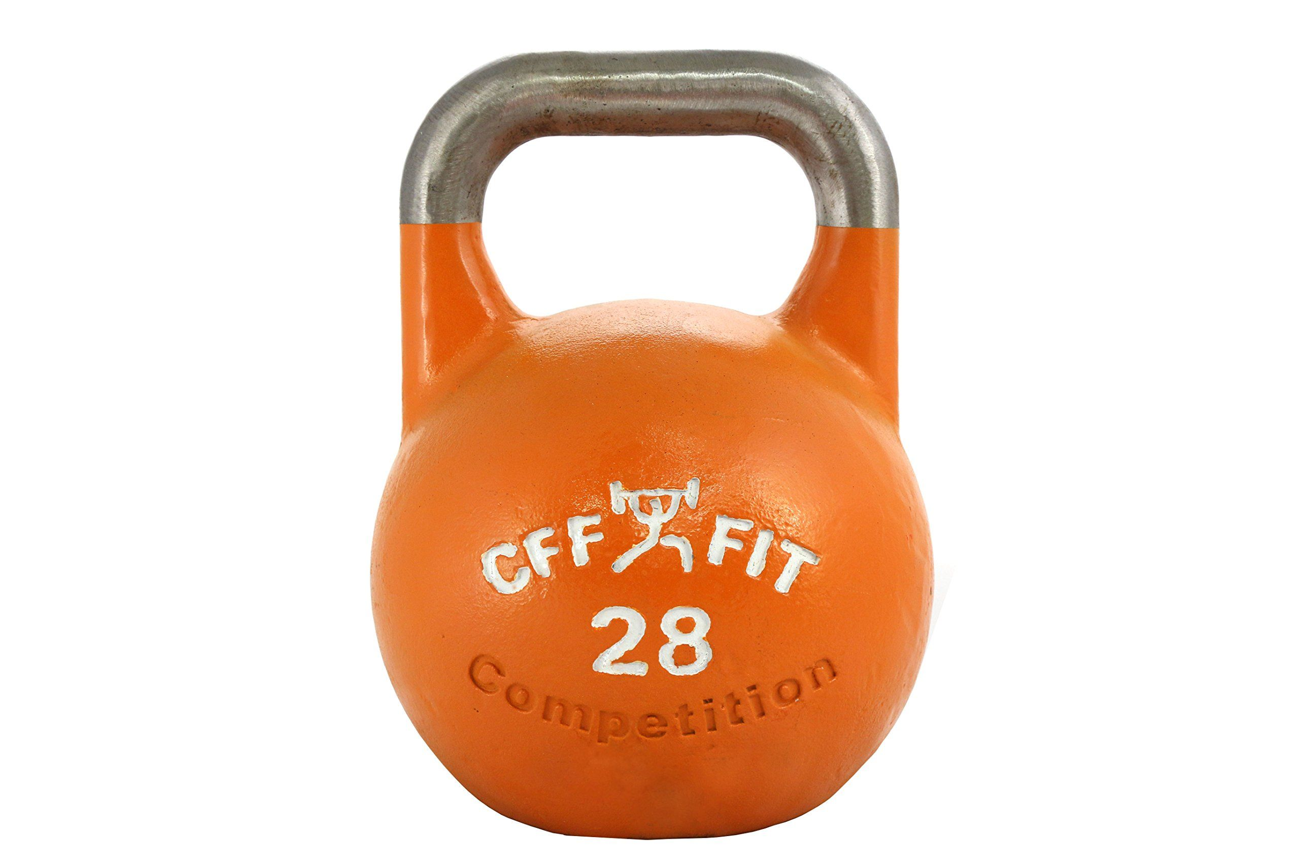 Cff Pro Competition Russian Kettlebell Orange 28 Kg Cff 28 Kg Pro Competition Russian Kettlebell Girya Kettlebell Russian Kettlebell Competition Kettlebells