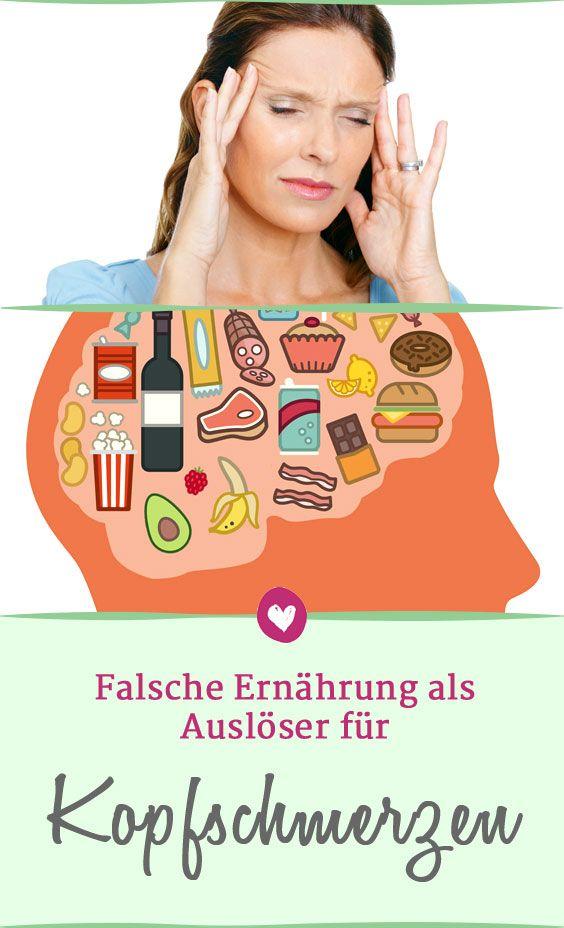 Wann Kopfschmerzen Durch Bestimmte Nahrungsmittel Verursacht