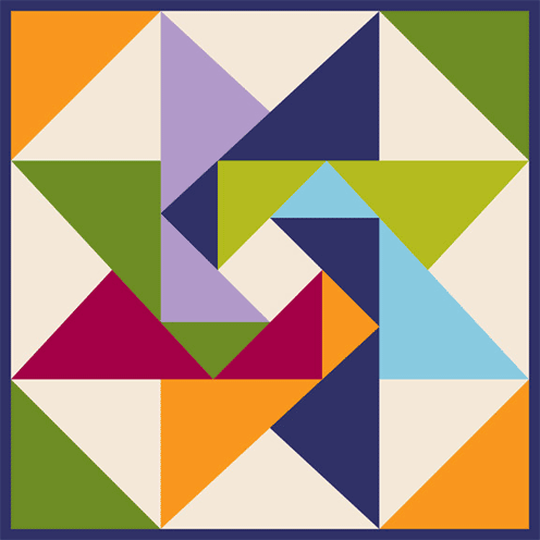 Barn Quilt Contest Winners Barn Quilt I Love This Block Quilted