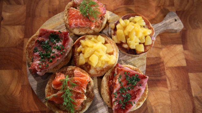 Ontbijtcrumpets - recept | 24Kitchen