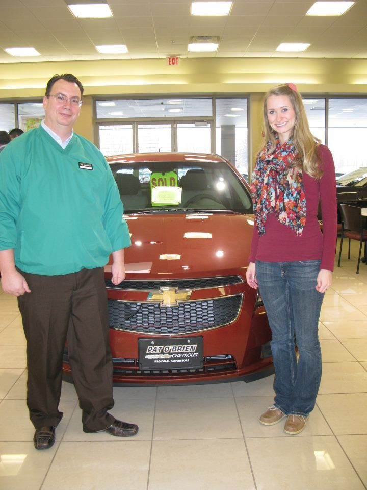 Wonderful Thank You Mr. Charles Maynard At Pat Ou0027Brien Chevrolet Westlake. I Love My  New 2012 Chevy Cruze In Autumn Color. From, Sarah!
