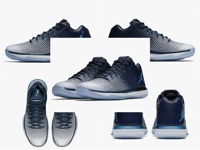 Youth Big Boys Air Jordan 31 Low UNC Midnight Navy University Blue White  897564 400 141e19d73d