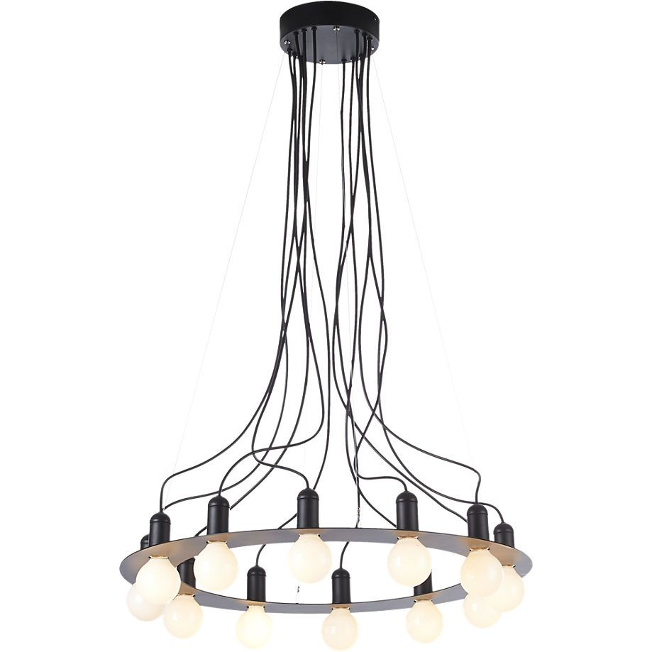 Radial Chandelier Cb2 Modern Lighting Pendant