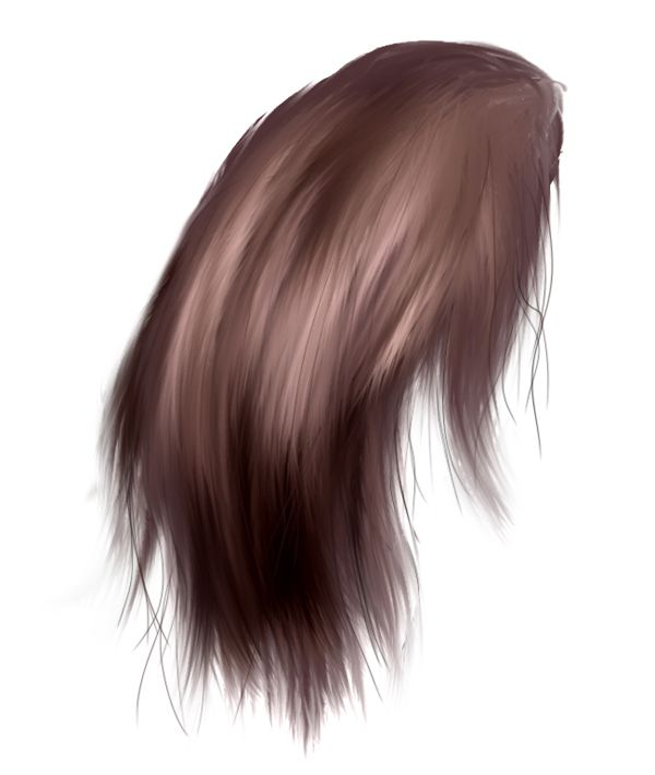Paint Realistic Hair Using Photoshop. This guy has many amazing ...