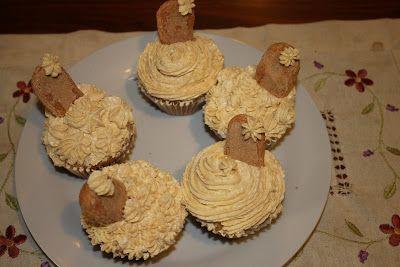 cupcake de bizcochos