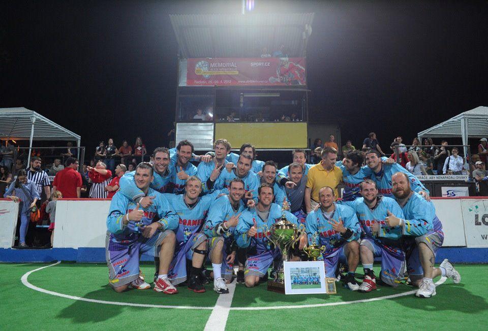 Megamen Champs Soccer field, Wrestling, Lacrosse