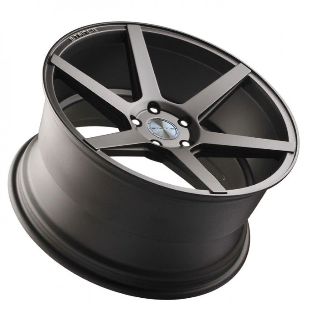 """20"""" STANCE SC6 SLATE GREY CONCAVE WHEELS RIMS FITS ACURA"""