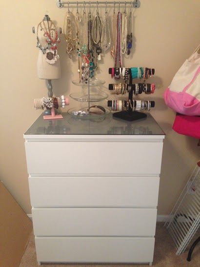 Ikea Furniture Malm 4 Drawer Dresser Women Cave/Dressing Room :)