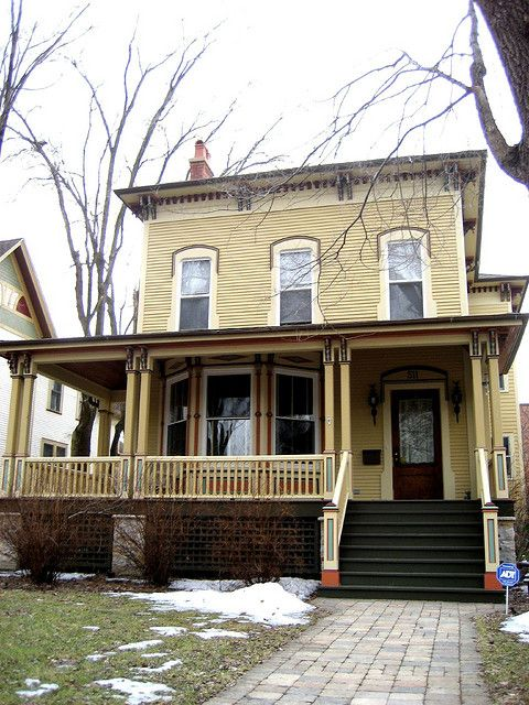 Italianate House (1860s) on Grove Avenue in Oak Park, IL | Flickr - Photo Sharing!
